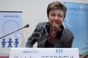 Еврокомисар Кристалина Георгиева ще посети Казанлък